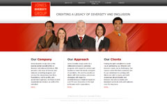 TechStyles USA Website Design Denver Chicago - Jones Diversity Group
