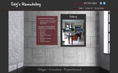 TechStyles USA Website Design Denver Chicago - Ody's Remodeling