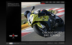 TechStyles USA Website Design Denver Chicago - Ride M Fast
